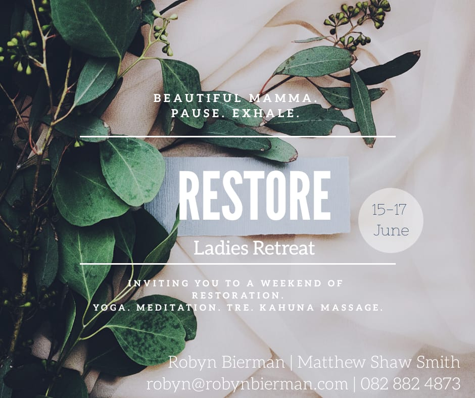 Restore Ladies Retreat, 15 - 17 June